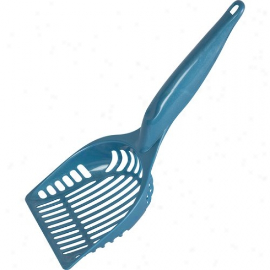Sterilite Litter Scoop, Marina Blue