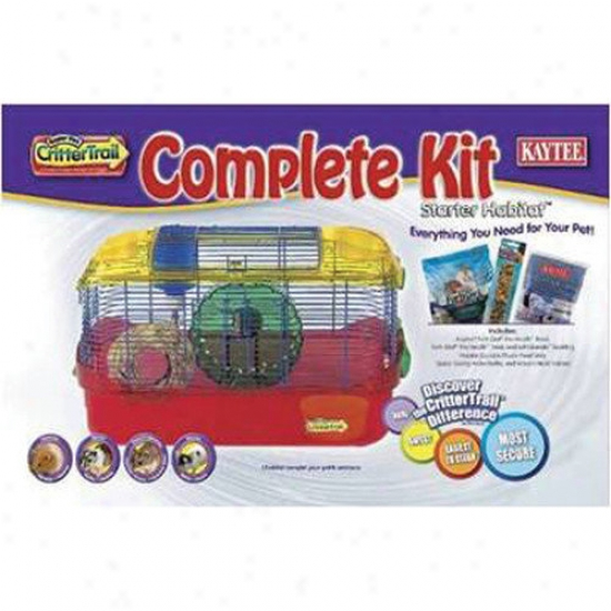 Super Pet Crittertrail Starter Habitat Complete Kit