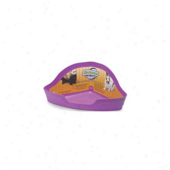 Super Pet - Hi Corner Litter Pan - 100079483