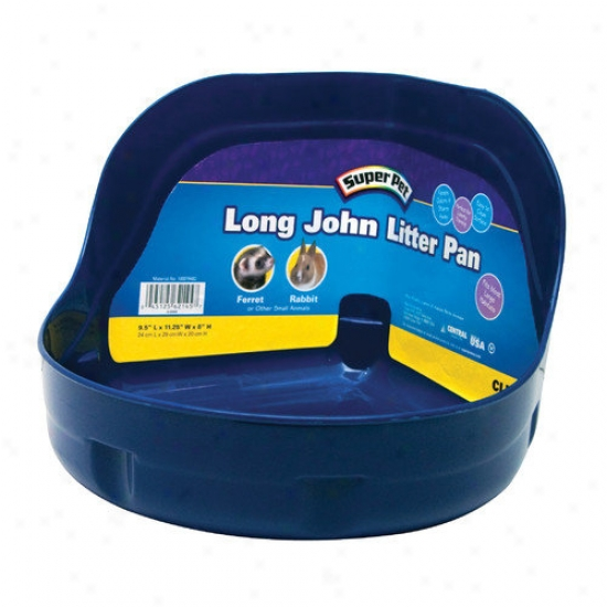 Super Pet Loong John Litter Pan With Locks Rabbit