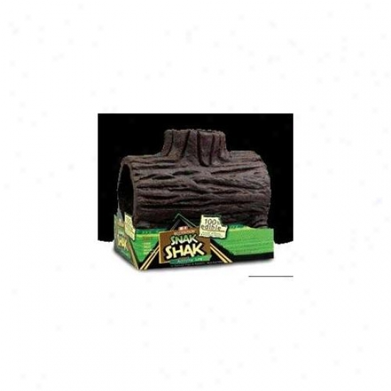 United Pet Group Eio - Snakshak Log House- Gpig-rabbit - E2203