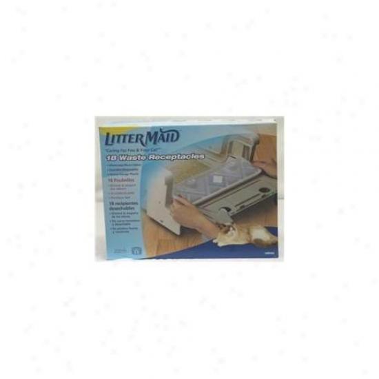 United Pet Group-littermd - Littermaid Receptacles 18 Pack - Lmr300
