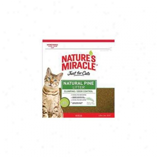 United Pet Group Nat Mirc 510883 Nature S Marvel Just For Cats Naturql Languish Litter - 8lb