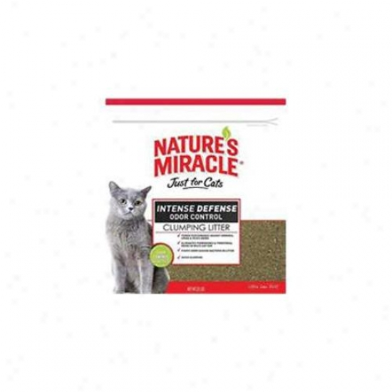 United Pet Group Nat Mirc 510885 Equitable For Cats Intense Defense Clumping Litter
