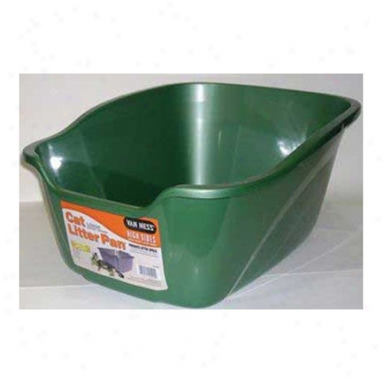 Front Ness High Sides Cat Pan