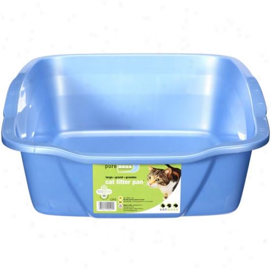 Van Ness Plastic Molding Large Cat Pan 18x14x5 - Cp2