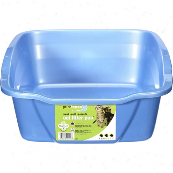 Van Ness Plastic Molding Small Cat Pan 14x10x3. 5 - Cpo