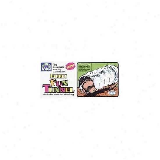 Votoy 815-62574 Vo-toys Ferret Clear View Fun Tunnel Toy