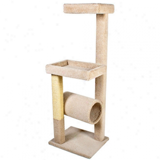 Ware Mfg 64'' Kitty Crows Nest Cat Tree