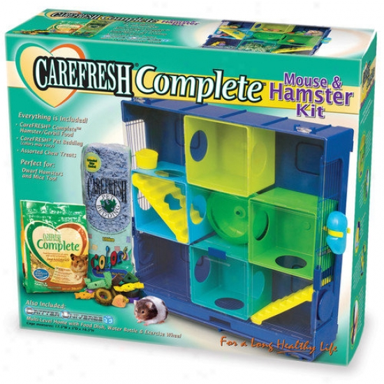 Ware Mfg Carefresh Mouse And Hamster Cage Kit