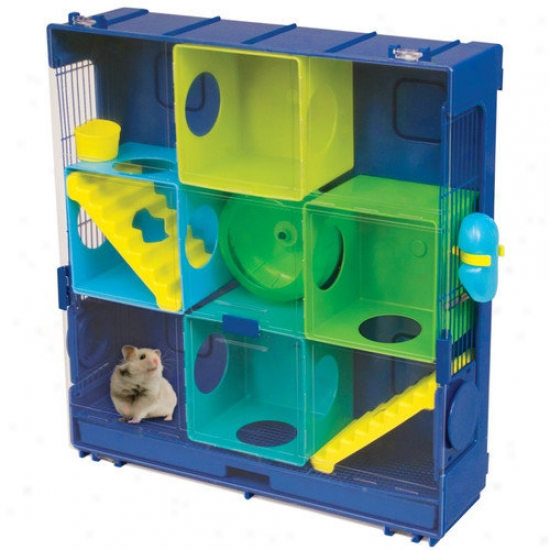 Ware Mfg Critter Univerrse 3-wall Small Animal Cage