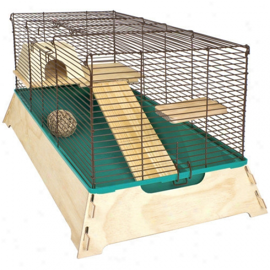 Ware Mfg Natural Wood Hamster Cage