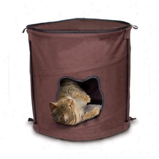 Ware Mfg Pop-up 1 Level Kitty Condo