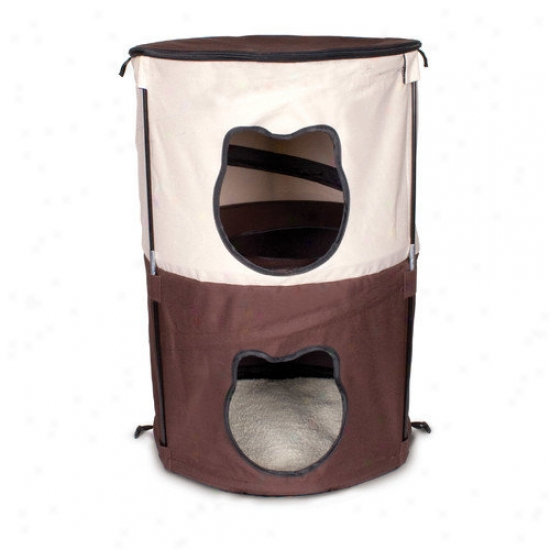 Ware Mfg Pop-up 2 Level Kitty Condo