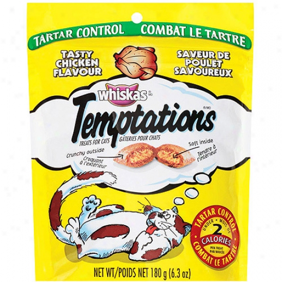 Whiskas Temptations Mega Chicken 6.3 Oz.