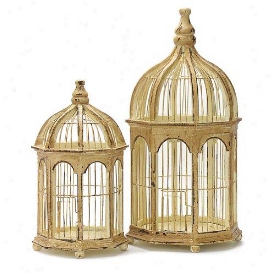 Wildin Home   2 Piece Gazebo Birdcage Set