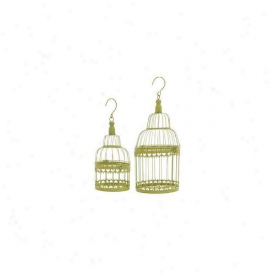 Woodland Import 66563 Bird Cage With Great Durability And Long Lasting - Regular Of 2