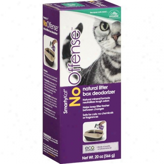 Worldwise 39807 Smartykat Natural Litter Box Deodorizer