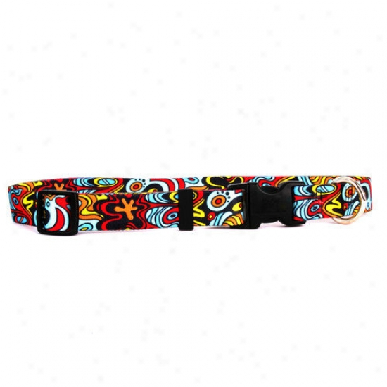 Yellow Dog Design Abstract Standard Collar