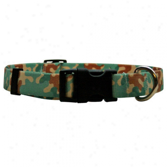 Yellow Dog Design Camo Standard Collar