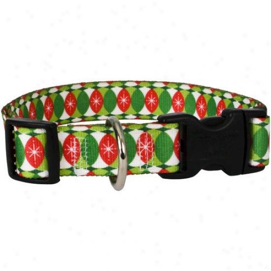 Yellow Dog Desibn Christmas Cheer Standard Collar