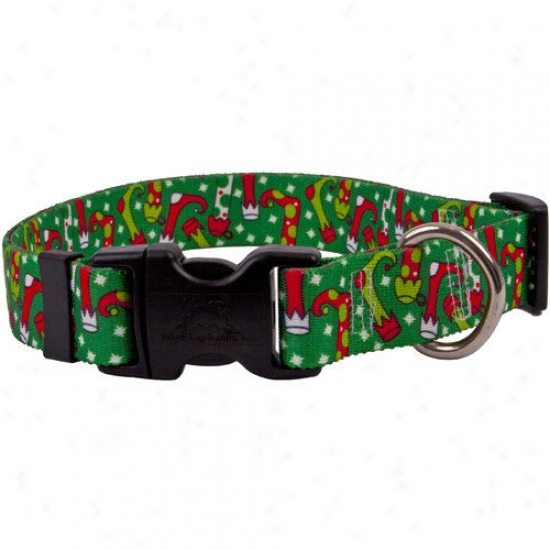 Yellow Dog Design Christmas Stockings Standard Collar