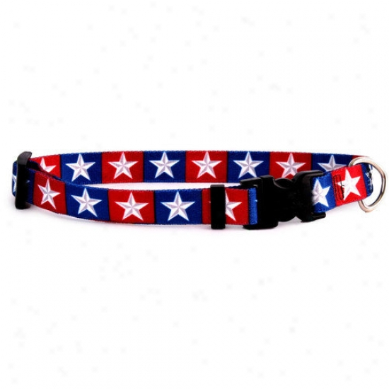 Ywllow Dog Design Colonial Stars Standard Collar
