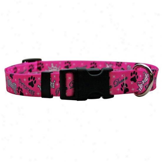 Yellow Dog Design Diva Dog Standard Collar