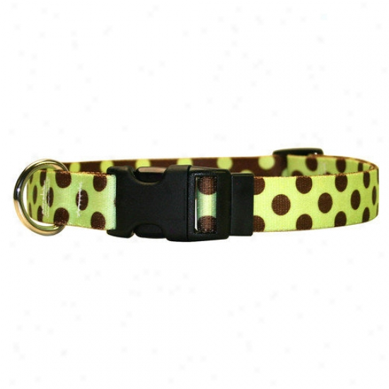 Yellow Dog Design Unseasoned And Pink Skulls Ensign Collar