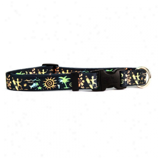 Golden Dog Design Primitive Surfer Standard Collar