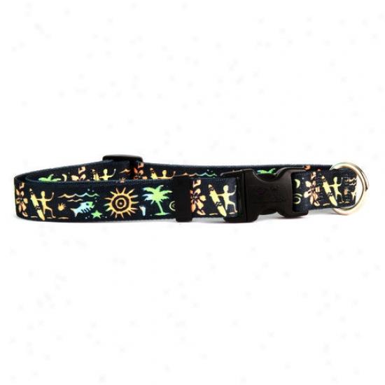 Golden Dog Design Primitive Surfer Standard Collar