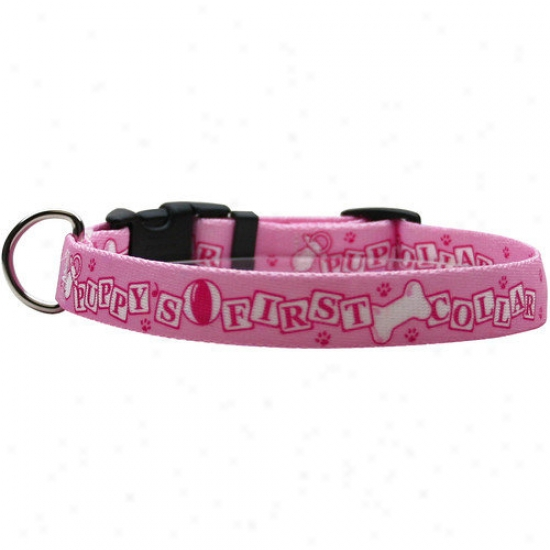 Yellow Dog Design Puppy's Fjrst Collar Standard Collar