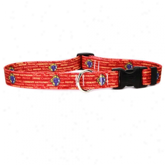 Yellow Dog Design Red Wine Standard Collar