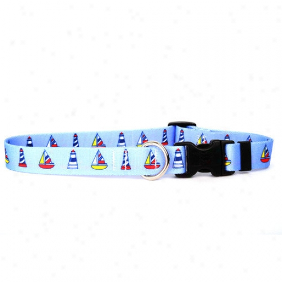 Yellow Dog Design Santa And Snowman Standard Collar