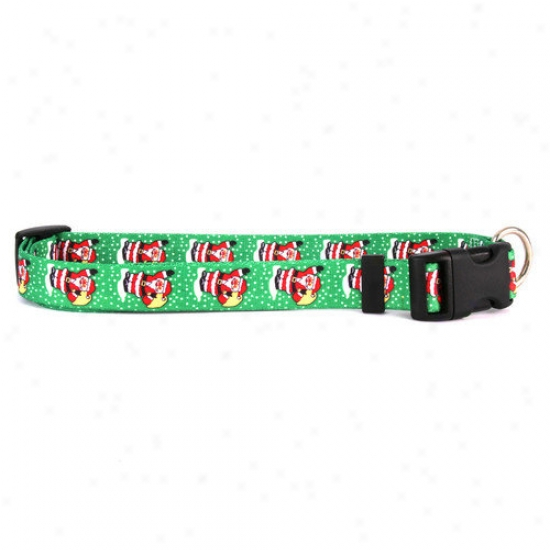 Yellow Dog Design Santa Claus Standard Collar