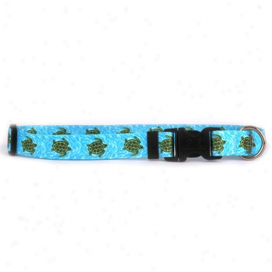 Yellow Dog Design Sea Turtles Standard Collar