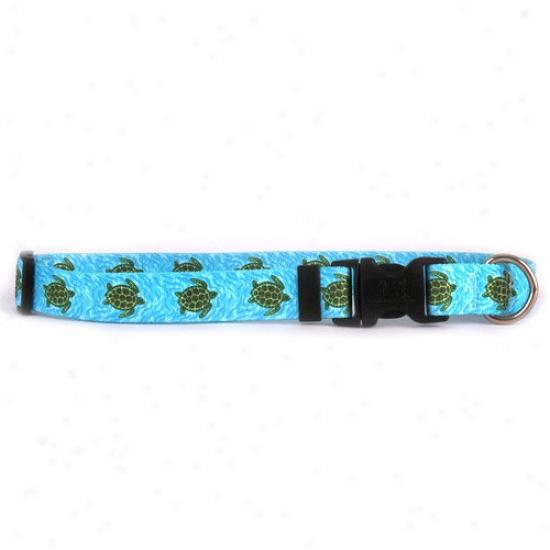 Yellow Dog Design Sea Turtles Standard Collar