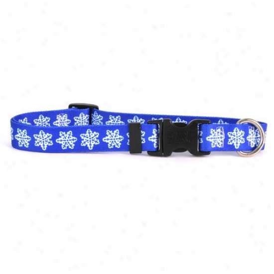 Yellow Dog Design Snowflake Standard Collar