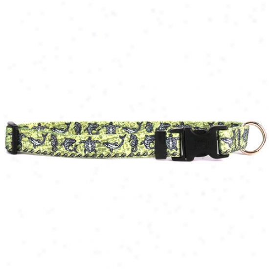 Yellow Dog Design Tribal Seas Standard Collar