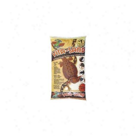 Zoo Med Laboratories Szmvg05 Vita-sand 5lb Gobi - Gold