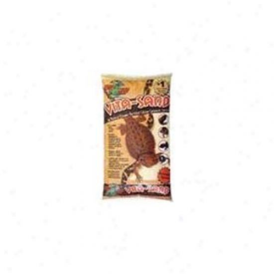 Zoo Med Laboratories Szmvm10 Vita-sand 10lb Mojave - Mauve