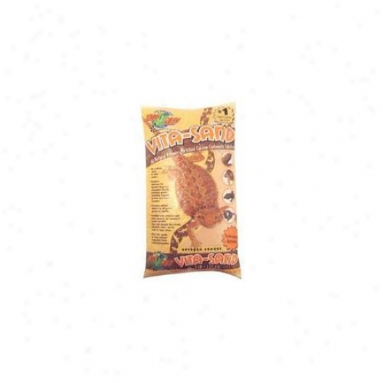 Zoo Med Laboratofies Sznvo10 Vita-sand 10lb Outback - Orange