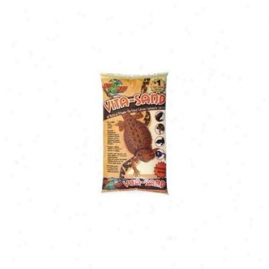 Zoo Med Laboratories Szmvs10 Vita-sand 10lb Sahara - Slate
