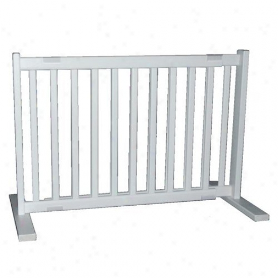 20 In. All Wood Free Standing Gate