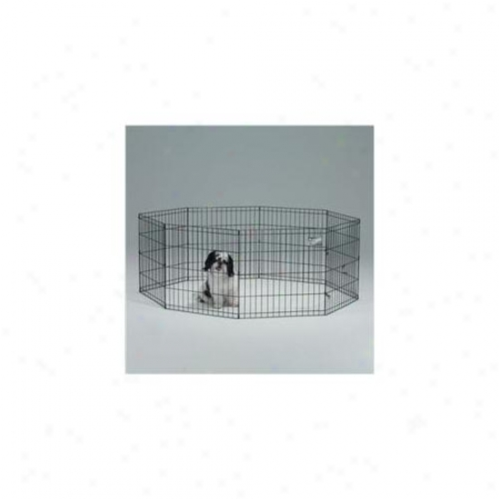 24 X 30 Inch Exercise Pen With House - Dismal  - 552-30dr