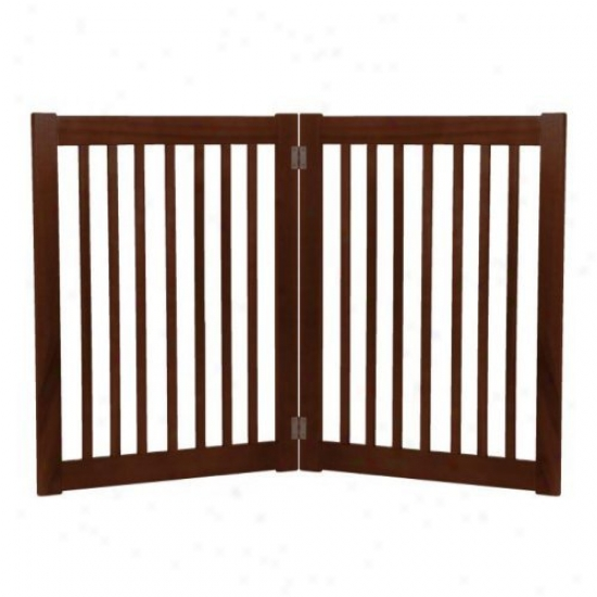 32 In. 2 Panel Free Standing Gate