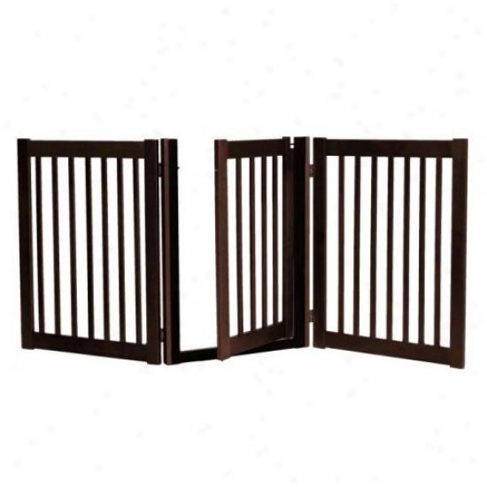 32 In. Walk-through 3 Free Standing Gate