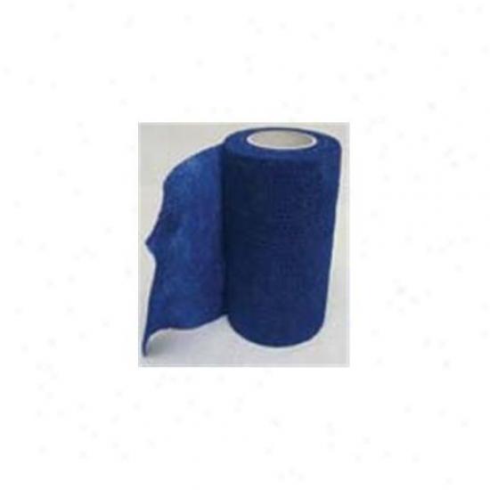 4 Inch X 5 Yard Wrap-it-up Flex Bandage - Blue  - 40713402