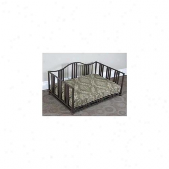 4d Concepts 11102 Brown Metal Cocoa Swirl Daybed- Brown