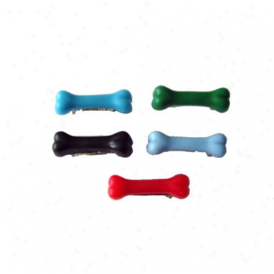 A Pet's World Five Dog Boe Barrettes For Males